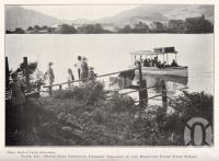 "<span class=""caption-caption"">Motorboat conveying farmers' children to the Maroochy River State School</span>. <br />From <span class=""caption-book"">Queensland Agricultural Journal</span>, 1929, collection of <span class=""caption-contributor"">Fryer Library, UQ</span>."
