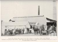 """<span class=""""caption-caption"""">Gibson Bros first sugar mill, Hemmant, Doughboy Creek</span>. <br />From <span class=""""caption-book"""">Queensland Agricultural Journal</span>, 1930, collection of <span class=""""caption-contributor"""">Fryer Library, UQ</span>."""