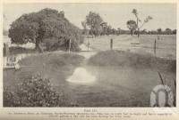 "<span class=""caption-caption"">An artesian bore at Noondoo, south-western Queensland</span>. <br />From <span class=""caption-book"">Queensland Agricultural Journal</span>, 1939, collection of <span class=""caption-contributor"">Fryer Library, UQ</span>."