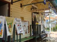 "<span class=""caption-caption"">Alpha Tourist Information centre</span>, 2009. <br />Digital image, collection of <span class=""caption-contributor"">Centre for the Government of Queensland MS</span>."