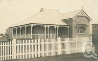"<span class=""caption-caption"">Shelton house, Fox Street, Booval</span>, c1910. <br />Digital image, collection of <span class=""caption-contributor"">Centre for the Government of Queensland</span>."
