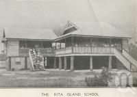 "<span class=""caption-caption"">The Rita Island School</span>, 1939. <br />Newspaper, collection of <span class=""caption-contributor"">John Young</span>."
