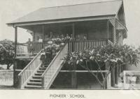 """<span class=""""caption-caption"""">Pioneer School</span>, 1939. <br />Newspaper, collection of <span class=""""caption-contributor"""">John Young</span>."""