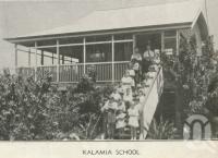 "<span class=""caption-caption"">Kalamia School</span>, 1939. <br />Newspaper, collection of <span class=""caption-contributor"">John Young</span>."