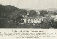 "<span class=""caption-caption"">Court house, Cooktown, demolished and rebuilt at Spring Hill Mission as a church</span>, 1939. <br />Newspaper, collection of <span class=""caption-contributor"">John Young</span>."