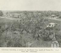 "<span class=""caption-caption"">Inkerman township, from Mt Inkerman</span>, 1940. <br />Newspaper, collection of <span class=""caption-contributor"">John Young</span>."
