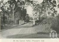 "<span class=""caption-caption"">On the Cannon Valley - Proserpine road</span>, 1940. <br />Newspaper, collection of <span class=""caption-contributor"">John Young</span>."