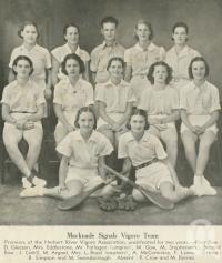 "<span class=""caption-caption"">Macknade Signals vigoro team</span>, 1940. <br />Newspaper, collection of <span class=""caption-contributor"">John Young</span>."