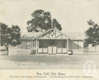 """<span class=""""caption-caption"""">New gold club house, Proserpine</span>, 1940. <br />Newspaper, collection of <span class=""""caption-contributor"""">John Young</span>."""