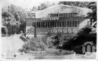 "<span class=""caption-caption"">Cascades Tea Gardens, Indooroopilly,  Brisbane</span>, c1930s-c1940s. <br />Photographic collection, <span class=""caption-contributor"">Queensland State Archives</span>."