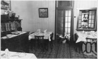 "<span class=""caption-caption"">Interior of St Elmo Guest House, Second Avenue, Sandgate</span>, c1930s-c1940s. <br />Photographic collection, <span class=""caption-contributor"">Queensland State Archives</span>."