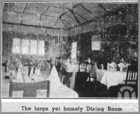 "<span class=""caption-caption"">Hotel Francis Dining Room Caloundra</span>, c1930s-c1940s. <br />Photographic collection, <span class=""caption-contributor"">Queensland State Archives</span>."