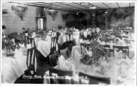 "<span class=""caption-caption"">Laguna Guest House Dining Room Noosa Heads</span>, c1930s-c1940s. <br />Photographic collection, <span class=""caption-contributor"">Queensland State Archives</span>."