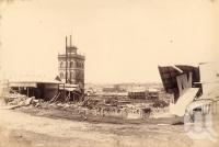 "<span class=""caption-caption"">West End Brewery after flood</span>, 1893. <br />Photograph, collection of <span class=""caption-contributor"">Fryer Library, UQ</span>."