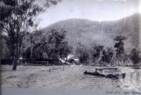 "<span class=""caption-caption"">Sawmill near Esk</span>, date unknown. <br />Photograph, collection of <span class=""caption-contributor"">Mobsby Collection, Fryer Library, UQ</span>."