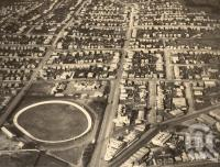 "<span class=""caption-caption"">South Brisbane overhead</span>, date unknown. <br />Photograph, collection of <span class=""caption-contributor"">Mobsby Collection, Fryer Library, UQ</span>."
