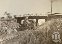 "<span class=""caption-caption"">Wyreema Junction 'At the points'</span>, 1900-1915. <br />Photograph, collection of <span class=""caption-contributor"">JC Smith Collection, Fryer Library, UQ</span>."