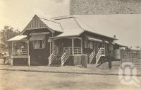 "<span class=""caption-caption"">Post & Telegraph Office, Chillagoe</span>, 1900-1915. <br />Photograph, collection of <span class=""caption-contributor"">JC Smith Collection, Fryer Library, UQ</span>."
