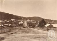 "<span class=""caption-caption"">View of town, Herberton</span>, 1900-1915. <br />Photograph, collection of <span class=""caption-contributor"">JC Smith Collection, Fryer Library, UQ</span>."