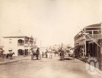 "<span class=""caption-caption"">Post Office Gill Street, Charters Towers</span>, 1890. <br />Photograph, collection of <span class=""caption-contributor"">Richardson Collection, Fryer Library, UQ</span>."