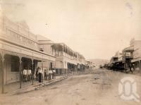 "<span class=""caption-caption"">Mosman Street, Charters Towers</span>, 1890. <br />Photograph, collection of <span class=""caption-contributor"">Richardson Collection, Fryer Library, UQ</span>."