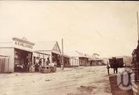 "<span class=""caption-caption"">Mosman Street, Charters Towers</span>, 1881. <br />Photograph, collection of <span class=""caption-contributor"">Richardson Collection, Fryer Library, UQ</span>."