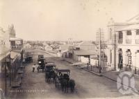 "<span class=""caption-caption"">Bow Street, Charters Towers</span>, 1893. <br />Photograph, collection of <span class=""caption-contributor"">Richardson Collection, Fryer Library, UQ</span>."
