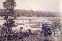 "<span class=""caption-caption"">Burdekin River, 8 miles from Charters Towers</span>, 1890. <br />Photograph, collection of <span class=""caption-contributor"">Richardson Collection, Fryer Library, UQ</span>."