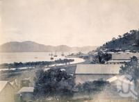 "<span class=""caption-caption"">Harbour Cooktown</span>, 1890. <br />Photograph, collection of <span class=""caption-contributor"">Richardson Collection, Fryer Library, UQ</span>."