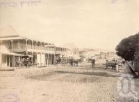 "<span class=""caption-caption"">Charlotte Street Cooktown</span>, 1890. <br />Photograph, collection of <span class=""caption-contributor"">Richardson Collection, Fryer Library, UQ</span>."