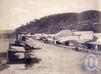 "<span class=""caption-caption"">Charlotte Street, Cooktown</span>, 1890. <br />Photograph, collection of <span class=""caption-contributor"">Richardson Collection, Fryer Library, UQ</span>."