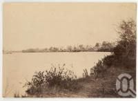 "<span class=""caption-caption"">Landing place Norman River, Normanton</span>, 1890. <br />Photograph, collection of <span class=""caption-contributor"">Richardson Collection, Fryer Library, UQ</span>."