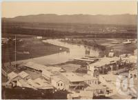 "<span class=""caption-caption"">Ross Creek, South Townsville</span>, 1888. <br />Photograph, collection of <span class=""caption-contributor"">Richardson Collection, Fryer Library, UQ</span>."