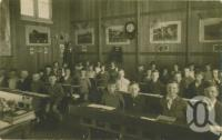 "<span class=""caption-caption"">Hughenden State School boys class</span>, 1932. <br />Photograph, collection of <span class=""caption-contributor"">Megan Young</span>."