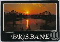 "<span class=""caption-caption"">Sunset, Brisbane</span>, c1970-2000. <br />Postcard, collection of <span class=""caption-contributor"">Murray Views Collection</span>."