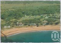 "<span class=""caption-caption"">Surfing Beach, Bargara Beach</span>, c1970-2000. <br />Postcard, collection of <span class=""caption-contributor"">Murray Views Collection</span>."