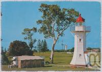 "<span class=""caption-caption"">Historical Lighthouse, Burnett Heads</span>, c1970-2000. <br />Postcard, collection of <span class=""caption-contributor"">Murray Views Collection</span>."