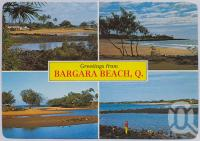 "<span class=""caption-caption"">Bargara Beach</span>, c1970-2000. <br />Postcard, collection of <span class=""caption-contributor"">Murray Views Collection</span>."