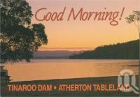"<span class=""caption-caption"">A new day dawns over Tinaroo Dam, Atherton Tableland</span>, c1970-2000. <br />Postcard, collection of <span class=""caption-contributor"">Murray Views Collection</span>."