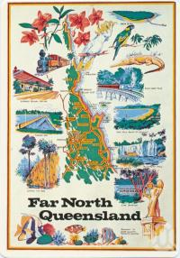 "<span class=""caption-caption"">Far North Queensland, Cairns</span>, c1970-2000. <br />Postcard, collection of <span class=""caption-contributor"">Murray Views Collection</span>."