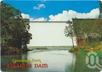 "<span class=""caption-caption"">Tinaroo Dam, Atherton Tableland</span>, c1970-2000. <br />Postcard, collection of <span class=""caption-contributor"">Murray Views Collection</span>."