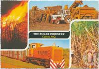 """<span class=""""caption-caption"""">The Sugar Industry, Cairns</span>, c1970-2000. <br />Postcard, collection of <span class=""""caption-contributor"""">Murray Views Collection</span>."""