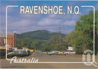 "<span class=""caption-caption"">The main street, Ravenshoe</span>, c1970-2000. <br />Postcard, collection of <span class=""caption-contributor"">Murray Views Collection</span>."