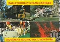"<span class=""caption-caption"">Ballyhooley Steam Express, Mossman sugar</span>, c1970-2000. <br />Postcard, collection of <span class=""caption-contributor"">Murray Views Collection</span>."
