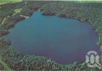 "<span class=""caption-caption"">Lake Barrine, surrounded by a National Park forest</span>, c1970-2000. <br />Postcard, collection of <span class=""caption-contributor"">Murray Views Collection</span>."