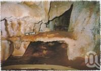 "<span class=""caption-caption"">The Stage, Royal Arch Cave, Chillagoe</span>, c1970-2000. <br />Postcard, collection of <span class=""caption-contributor"">Murray Views Collection</span>."