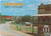 "<span class=""caption-caption"">Macrossan Street showing the Railway and the Imperial Hotels, Ravenswood</span>, c1970-2000. <br />Postcard, collection of <span class=""caption-contributor"">Murray Views Collection</span>."