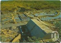 "<span class=""caption-caption"">Burdekin Falls Dam near Ravenswood, Stage 1, Main Concrete Wall</span>, c1970-2000. <br />Postcard, collection of <span class=""caption-contributor"">Murray Views Collection</span>."