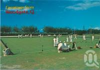 "<span class=""caption-caption"">Woodgate Bowling Green, only a short walk from Barkala Caravan Park</span>, c1970-2000. <br />Postcard, collection of <span class=""caption-contributor"">Murray Views Collection</span>."
