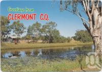 "<span class=""caption-caption"">Hood's Lagoon, Clermont</span>, c1970-2000. <br />Postcard, collection of <span class=""caption-contributor"">Murray Views Collection</span>."